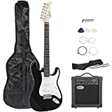 ZENY 39in Full Size Electric Guitar with Amp, Case and Accessories Pack Beginner Starter Package,...