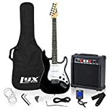 LyxPro Electric Guitar 39' inch Complete Beginner Starter kit Full Size with 20w Amp, Package...