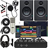 Mackie Big Knob Studio Monitor Controller and Audio Interface with Pro Tools First/Tracktion Music...
