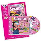 Spanish Music CD/Book Set (Listen and Learn a Language Series, 10) (English and Spanish Edition)