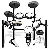 Donner DED-200 Electric Drum Set Electronic Kit with Mesh Head 8 Piece, Drum Throne, Sticks...