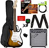 Fender Squier Stratocaster - Sunburst Bundle with Frontman 10G Amplifier, Gig Bag, Instrument Cable,...