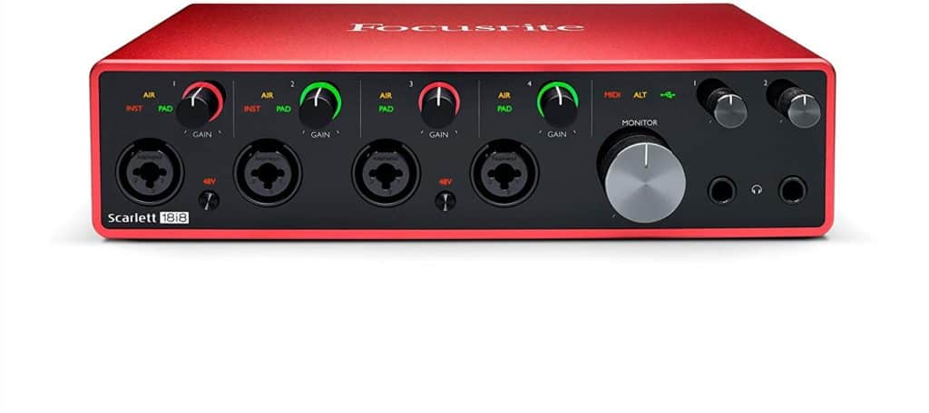 Focusrite Scarlett 18i8 Multi-Channel Interface