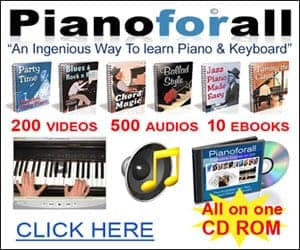 Learn to play piano with Pianoforall