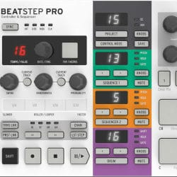Arturia Beatstep Pro Analogue-style Step Sequencer