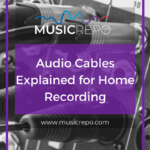 audio cables explained pinterest image