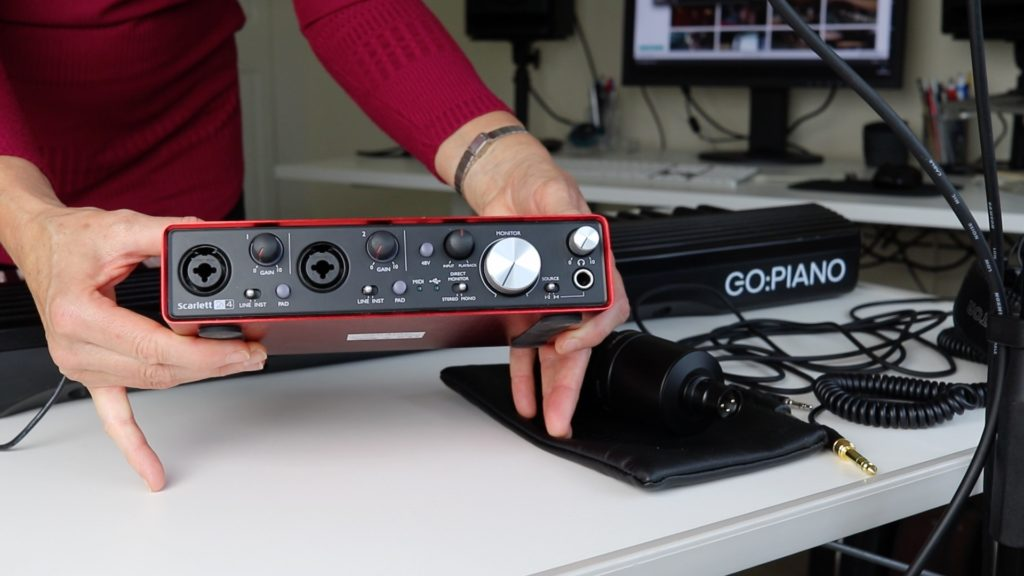image of audio interface