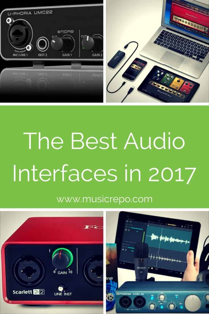 Which are the best audio interfaces for your home recording studio? It depends what you want to record. Discover what audio interface you need for your home recording studio.