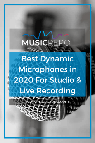 Best Dynamic Microphones Pinterest Image