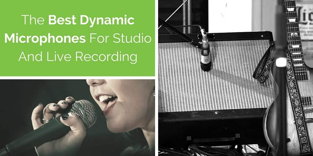 The Best Dynamic Microphones For Studio And Live Recording