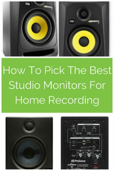 Best Studio Monitors For Home Recording