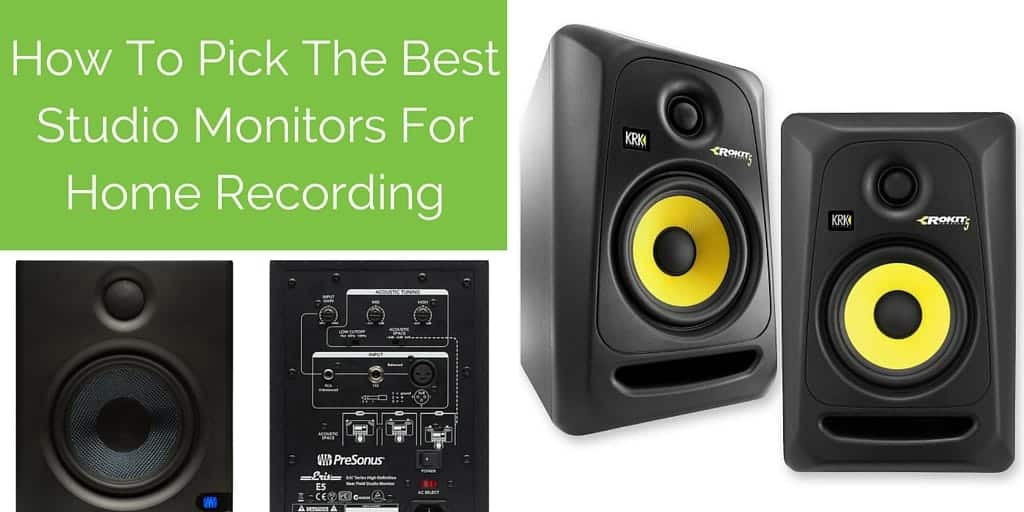 The Best Studio Monitors For Home Recording: A Complete Guide