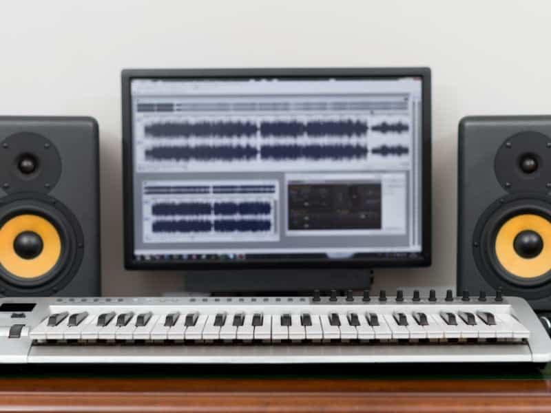 best studio monitors for home recording in 2019 a complete guide. Black Bedroom Furniture Sets. Home Design Ideas