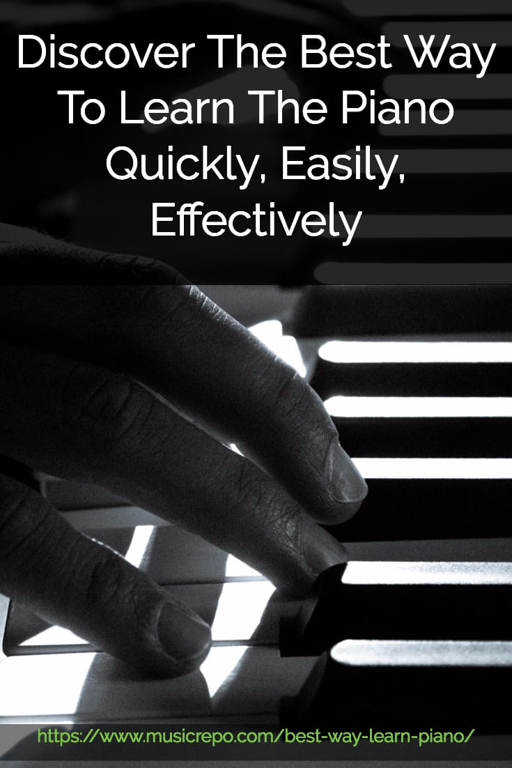 Discover the best ways to learn to play the piano quickly and effectively. Use online courses, software, and good books to learn how to play piano