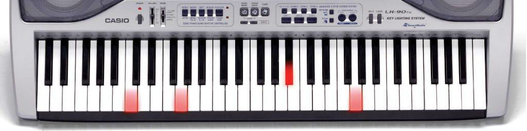 Casio Lighted Key Piano Keyboard