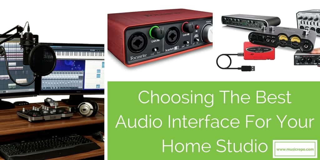 Choosing An Audio Interface