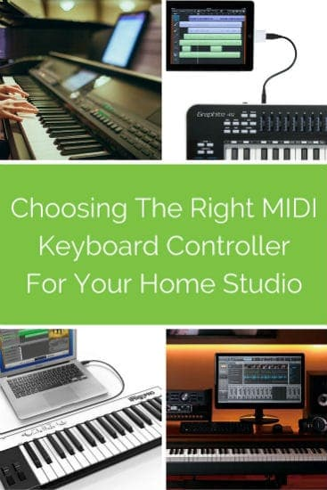 Choosing The Right MIDI Keyboard Controller