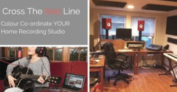 Cross The RED Line: Glorious Home Studio Equipment
