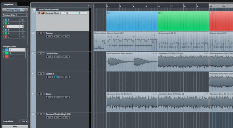 Cubase Elements Screenshot