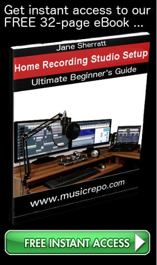 Free Home Recording Studio Set-Up eBook