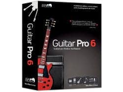 Guitar Pro 6 Tablature Editor Software