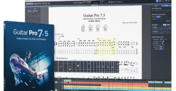 Guitar Software Screenshot