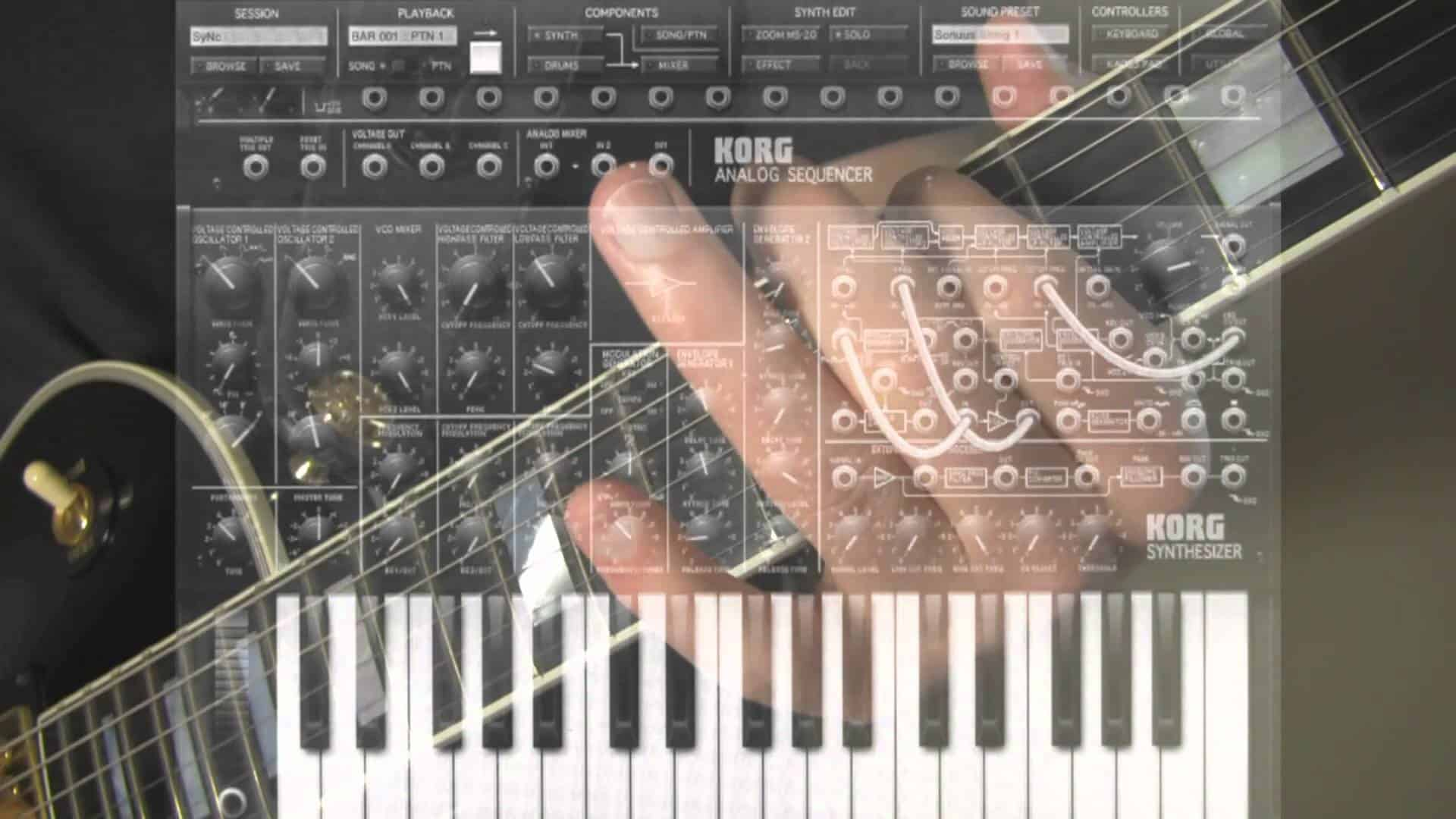 Guitar to MIDI connection – Use Your Guitar Like A Synth