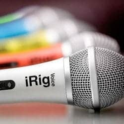 IK Multimedia iRig Voice White iOS and Android Vocal Mic