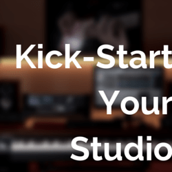kick start your home recording studio