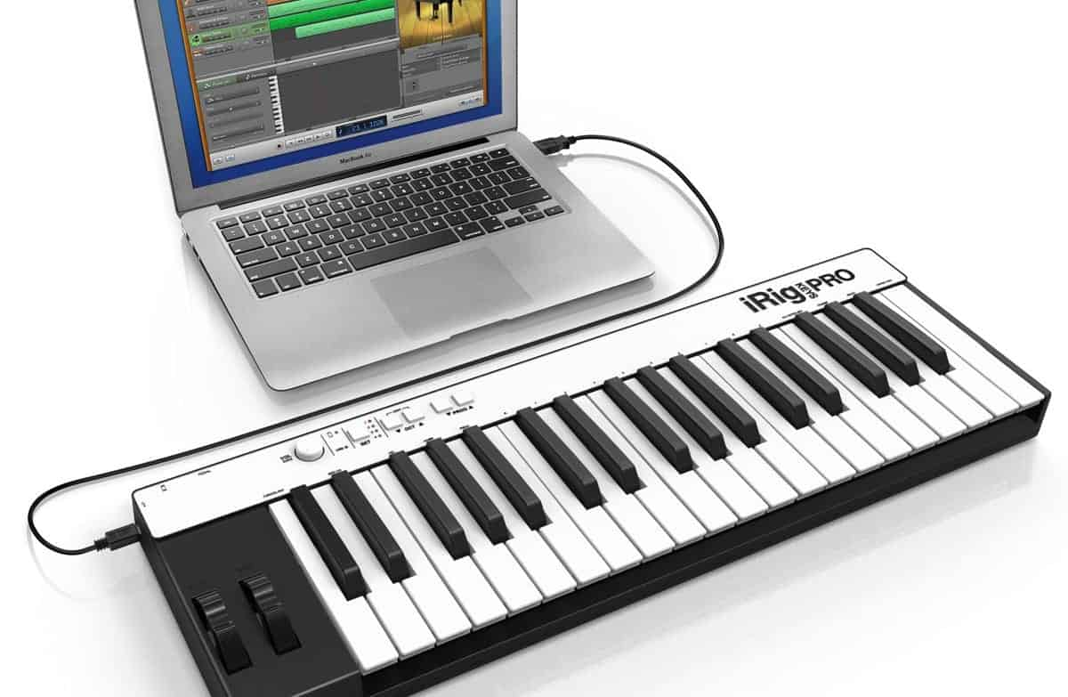 how to connect a midi keyboard to a computer music repo. Black Bedroom Furniture Sets. Home Design Ideas