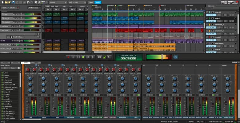 Mixcraft Pro Studio Screenshot