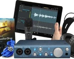 Presonus Audiobox iTwo Recording Interface For Keyboard