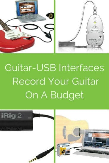 Record Your Guitar On A Budget With A Guitar-USB Interface