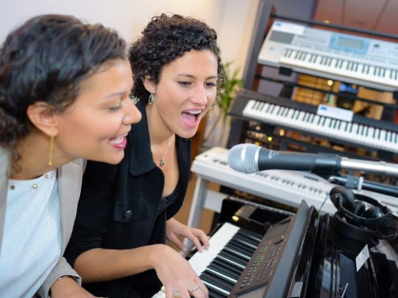 record keyboard and vocals featured image