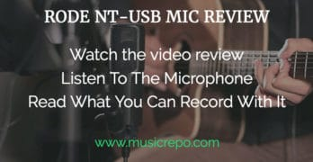 Rode NT-USB USB Microphone Review
