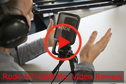 Watch the Rode NT-USB Video Review