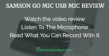 Samson Go Mic Review