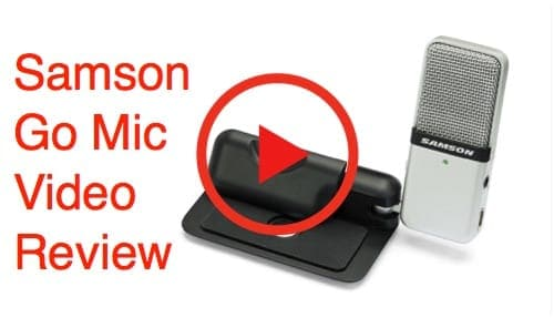 Watch the Samson Go Mic Video Review