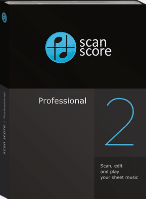 Scan Score 2 Professional Music Scanning Software