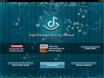 SightRead4Piano by Wessar Screenshot