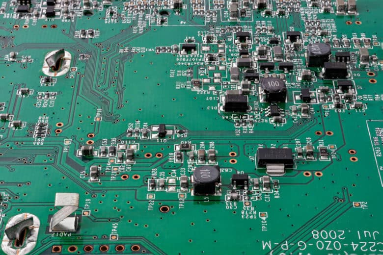 image of printed circuit board