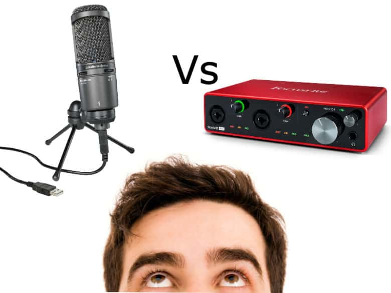 usb microphone vs audio interface featured image