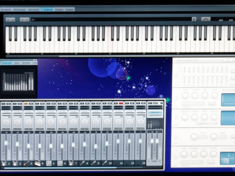 What is MIDI? image of MIDI recording software