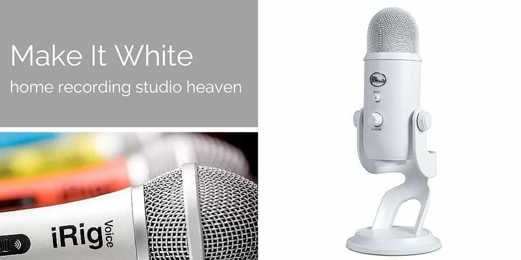 Make It White: Heavenly Home Recording Studio Kit