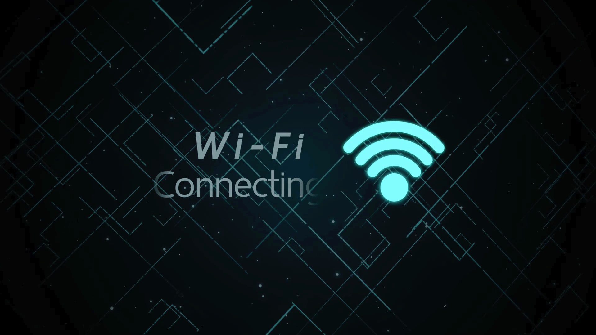 Wi-Fi Connecting